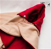 Sono i classici cappottini della serie invernale Lupavaro. Costituiti in Doppio Strato di Polar Flee
