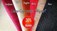 Crea il tuo nuovo cappottino rigato disponibile nei seguenti colori: Nero Sabb